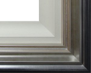 Silver Frame with Slip